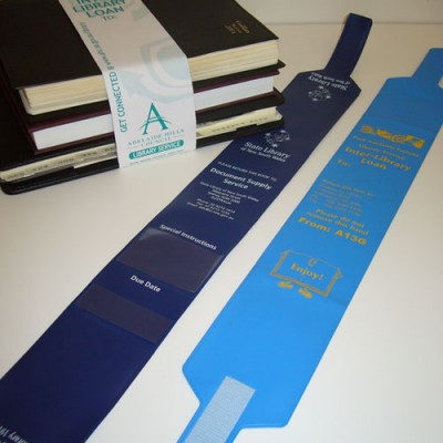 Library Book Straps