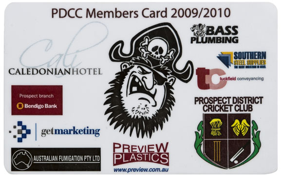 Membership & Business Cards