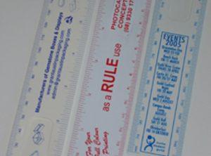 Bookmark Rulers