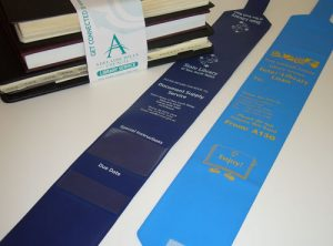 Printed Colour Library Book Strap