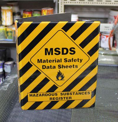 MSDS-Folder 400