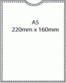 A5 Polypropylene Pocket – Pack 100
