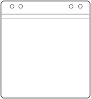 CD pocket to suit ring binder – Pack of 100