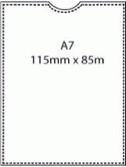 A7 Polypropylene Pocket – **LIMITED STOCK**