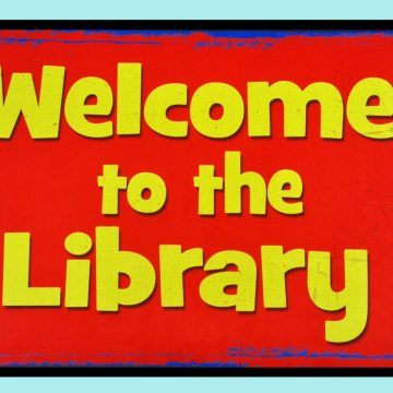 Mat-Talk 85 x 120 Welcome to the Library
